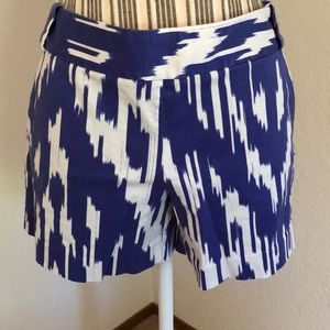 J. Crew side zip shorts.